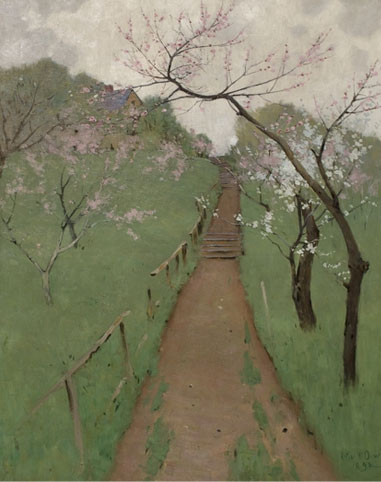 Image of Spring Themed Artwork from UMMA