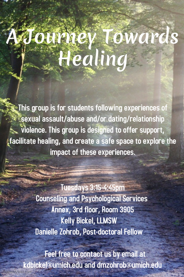 A Journey Towards Healing Flyer