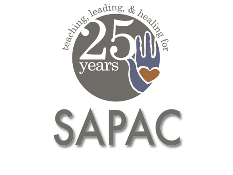 Logo of 25 years of SAPAC