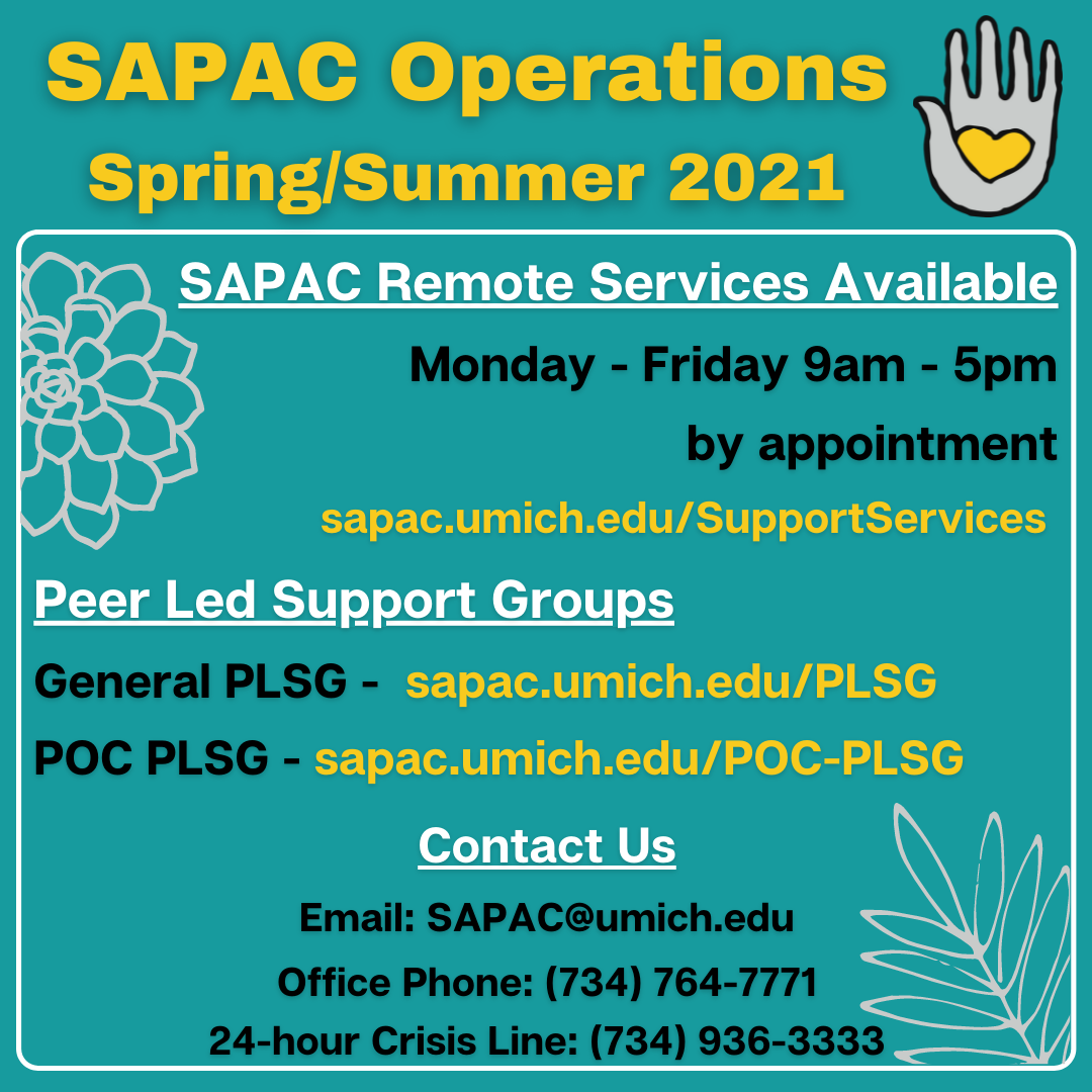 SAPAC Spring and Summer Operations