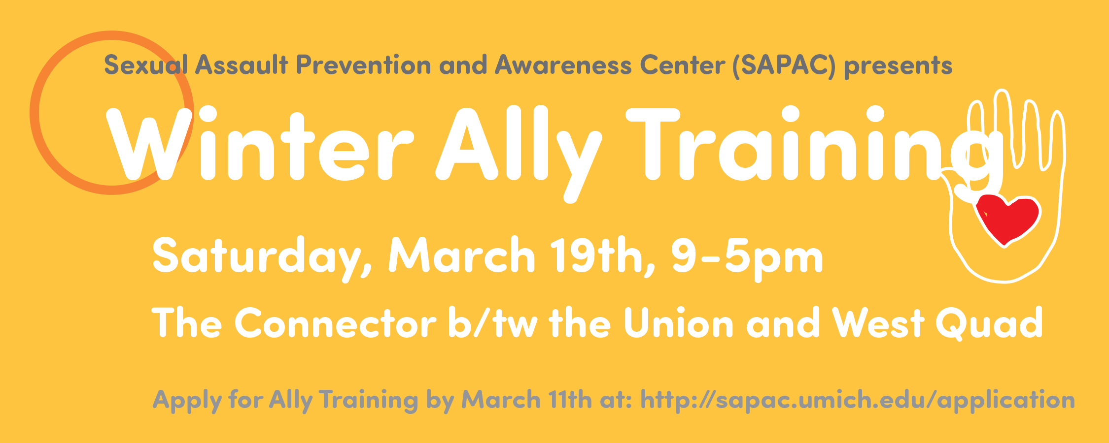 Winter Ally Training Cover Photo and Information