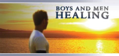 Boys and Men Healing Poster