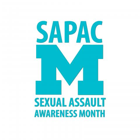 SAPAC's Sexual Assault Awareness Month Logo