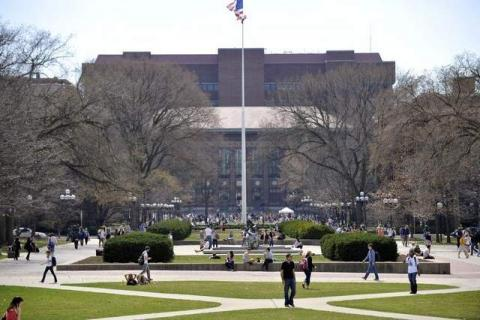 Picture of the University of Michigan Diag