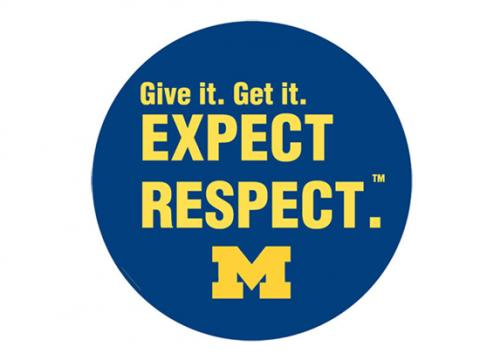 Give it. Get it. Expect Respect. Logo