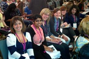 photo of women at a conference