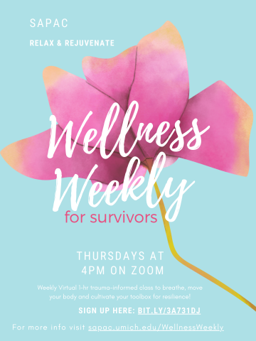 Wellness Weekly For Survivors