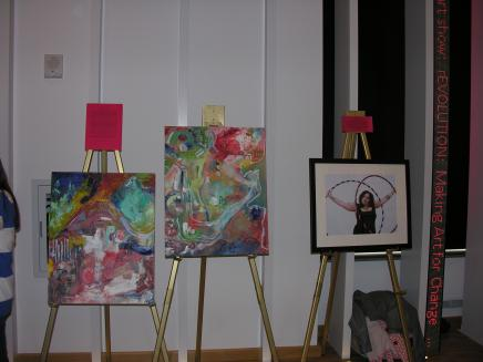 Picture of artwork from rEVOLUTION: Making Art for Change