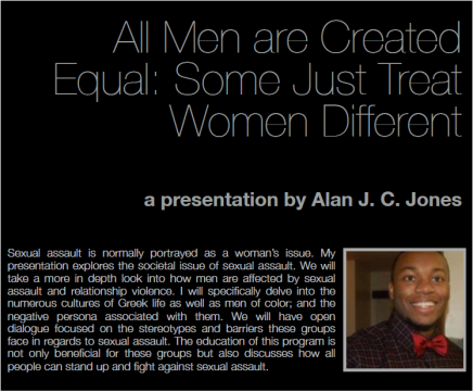 All Men are Created Equal: Some Just Treat Women Different Poster