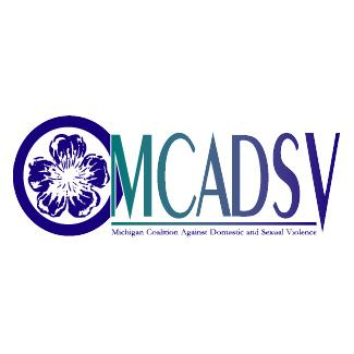 Logo of Michigan Coalition Against Domestic and Sexual Violence(MCADSV).