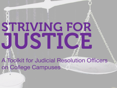 Coverpage of Striving for Justice Toolkit
