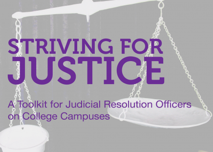 Striving for Justice: A Toolkit for Judicial Resolution Officers