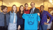MAs with University of Michigan's President-Elect Mark S. Schlissel (March 2014)